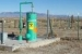 This well is used to inject the protein source — whey powder — for microorganisms in an in situ bio- remediation process.