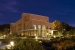 Night view of exterior of the Joint Institute for Biological Sciences, which houses the BioEnergy Science Center laboratories at Oak Ridge National Laboratory. | Photo courtesy of Oak Ridge National Laboratory.