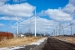 Mid-Sized Distributed Wind: Two mid-sized wind turbines in operation at Wayne Industrial Sustainability Park in Ontario, New York.   Photo courtesy of Sustainable Energy Developments, Inc.