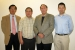 The original team that developed the radiofrequency identification technology to track and monitor radioactive material shipments is pictured here, left to right: Hanchung Tsai, Yung Liu, James Shuler and Kun Chen. Tsai, Liu and Chen are Argonne National Laboratory employees.