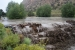 The Los Alamos weir was overrun with flood waters in September. This spring, crews removed 7,200 cubic yards of sediment that accumulated from the September 2013 floods.