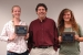 McMaster, left, and Sakalla were presented plaques by Dave Adler, DOE-EM liaison to ORSSAB, in recognition for their service to ORSSAB.