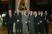 The U.S. delegation of DOE representatives, including DOE national laboratory and contractor staff, are pictured, front row, left to right, Doug Akers, Steve Schneider, Robert Montgomery, Dan McCabe, Steve Herring, Paul Bredt, Rich Abitz; back row, left to right, Jeff Miller, Jeff Griffin, Bob Sindelar, Reid Peterson, Chuck Negin, and Wayne Johnson.