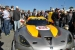 A crowd gathers around the SRT Viper GTLM car at the Rolex 24 at Daytona. | Photo by Natalie Committee, Energy Department
