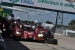 The Mazda SKYACTIV car heads for a pit stop at 12 Hours of Sebring on Saturday. Properties of the Dynamic Fuel diesel help make the engines used in Mazda Prototype class cars competitive with the other vehicles in their class| Photo by Natalie Committee, Energy Department