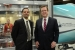 Jose Zayas (left), director of the Department's Wind and Water Power Technologies Office, and David Danielson, Assistant Secretary for Energy Efficiency and Renewable Energy, at the Collegiate Wind Competition.