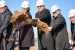 From left to right: Congressman Rogers, Senator Stabenow, Deputy Under Secretary for Science and Energy Dr. Michael Knotek, President Lou Anna Simon of Michigan State University, and Senator Levin break ground on the FRIB site. Photo Courtesy of Michigan State University.