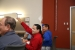 Attendees tested their knowledge during a game of Jeopardy. Photo by John De La Rosa, NREL