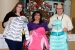 The clothing drive's organizers — Margaret Gee (left), Yolanda Navarrete (center) and Dana Dorr — hold up some of the donated coats before providing them to Carlsbad area schools. Gee is with CBFO and Navarrete and Dorr are with Nuclear Waste Partnership (NWP). NWP's Yolanda Salmon, another drive organizer, is not pictured.