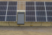 DOE was able to minimize impacts to the habitat of a federally protected mouse and provide the potential for relatively easy relocation by mounting the solar panels on the side of the conex box that houses the batteries and other system equipment.