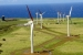 Photo of wind turbines at Hawaii Renewable Development, located on the Northern tip of Hawaii at Upolu Point.The project utilizes 16 Vestas V-47 660kW turbines, spread over approximately 250 acres.   Photo from Hawaiian Electric Light Company, NREL 14697