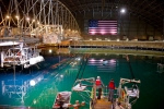 """The 12-million-gallon """"indoor ocean"""" where Wave Energy Prize testing occurs. (Credit DOE)"""