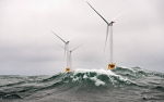 The first offshore wind farm in the U.S. opened off the coast of Rhode Island this year. | Photo courtesy of Dennis Schroeder, National Renewable Energy Laboratory.