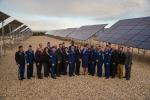 Deputy Secretary Liz Sherwood-Randall with the graduates of the Solar Ready Vets program at Hill Air Force Base, Utah. Image courtesy of the U.S. Air Force.