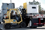SRS loaded 14 standard waste boxes containing mixed and low-level waste that previously was classified as transuranic TRU waste. This shipment to a Florida treatment site marks the 1,000 cubic meter milestone of the 5,000 cubic meters in the Site's TRU program that will be dispositioned through the Recovery Act.