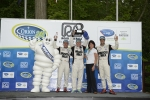 The Honda and Muscle Milk Team, pictured here, are the 2013 Michelin Green X Challenge Prototype champions. | Photo courtesy of Michelin
