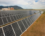 Fort Carson's first U.S. Green Building Council platinum-level Leadership in Energy and Environmental Design certified facility, the 4th Armored Brigade Combat Team Brigade and Battalion Headquarters, features a 482 kilowatt ground-mounted, tracking photovoltaic system.   U.S. Army photo