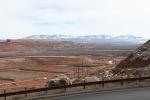 A view of the uranium mill tailings pile at EM's Moab Uranium Mill Tailings Remedial Action Project in Utah.