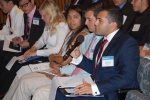 2016 Mickey Leland Energy Fellowship interns participating in a discussion during the June 13 kick-off event in Washington, D.C.