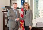 Dr. Elizabeth Sherwood-Randall and BPA Administrator Elliot Mainzer