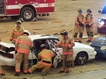 The Vehicle Crash Demonstration was a powerful look into the potential consequences of distracted or impaired driving.