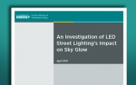 the cover page for the Street Lighting and Sky Glow publication.