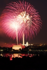 Fourth of July National Mall Fireworks