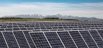 Photo of solar photovoltaic array