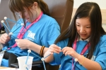 Kids enjoying STEM activities at Idaho National Lab (INL)