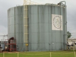 A Savannah River Site fire water tank to be replaced in effort to upgrade infrastructure and reduce maintenance costs.