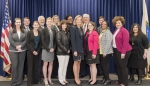 The 2018 Mid-Level Leadership Development Program graduating class with NNSA Administrator Lisa E. Gordon-Hagerty.