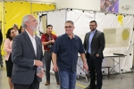 U.S. Rep. Dan Newhouse of Washington recently toured EM's Volpentest Hazardous Materials Management and Emergency Response Federal Training Center (HAMMER) at the Hanford Site.