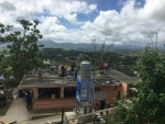 Universidad del Turabo Industrial Assessment Center assisted with Puerto Rico's Hurricane Maria recovery efforts by by installing donated solar power systems for the local water distribution and community centers.