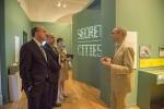 "DOE Under Secretary Dabbar Tours Exhibit on ""Secret Cities"" Linked to EM Cleanup"
