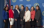 Panelists for the Women of Courage Womens History Month Event at the Department of Energy, 2018