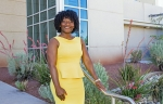 Sandia National Laboratories materials scientist Olivia Underwood hopes to inspire others through Sandia's HMTech program.