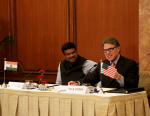 Secretary Perry talks to energy officials in India
