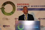 Acting Associate Principal Deputy Assistant Secretary for Field Operations Ken Picha speaks at the National Cleanup Workshop.