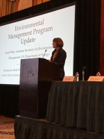 EM Assistant Secretary Anne White speaks at the 17th Annual Intergovernmental Meeting.