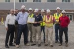 """Y-12 National Security Campus's """"Building Partnerships for a Sustainable Future"""" Strategic Partnerships for Sustainability Award winners (from left) Gene Sievers, Tim Hutson, Nathan Wallace, Bud Slaven,  Jason Phillips, Don Peters,  Joe Duncan,  Halen Phi"""