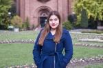 Dr. Karen Ventura, a NNSA Graduate Fellowship Program Fellow in the Office of Defense Nuclear Nonproliferation