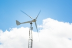 A photo of a Bergey excel 15 wind turbine.