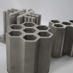 Photo of nuclear components that were additively manufactured