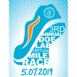 The DOE Mile 2019 logo