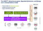 The GREET Model workflow