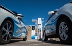 Hydrogen fuel cell fueling station at NREL