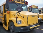 Image of two school buses.
