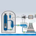 A pressurized water reactor
