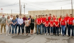 DOE interns, shown, are working with contractors Four Rivers Nuclear Partnership and Swift & Staley, Inc., at the Paducah Site in western Kentucky.