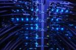 Supercomputer lights at Argonne's Center for Nanoscale Materials